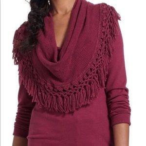 ANTHROPOLOGIE Angel of the North Cowl Neck Sweater